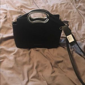 Tahari black purse